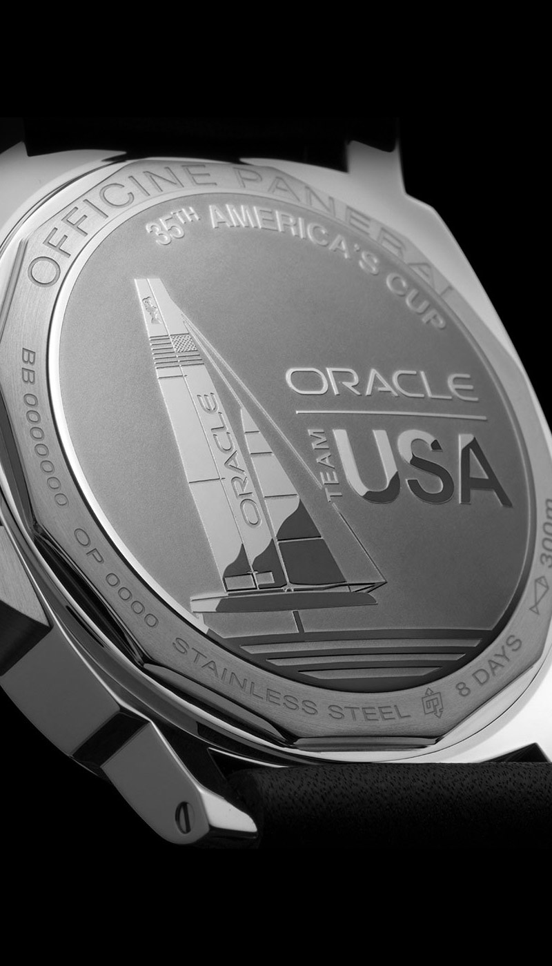 Officine Panerai 35th America S Cup Official Partner
